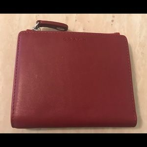 Vintage AUTHENTIC Coach mini wallet